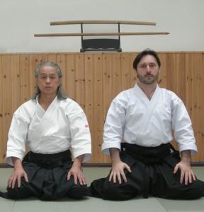 Alexis Samatan Takeji Tomita Sensei Aikido Takemusu