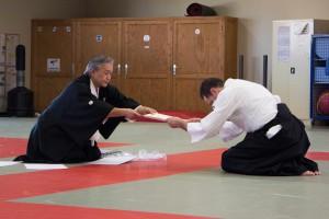 passage de grade Tomita academy Aikido
